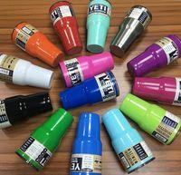 Wholesale YETI Coolers Rambler Tumbler Cup Colors oz oz Large Capacity Stainless Steel Tumbler Mugs Tumbler Mug DHL Shipping
