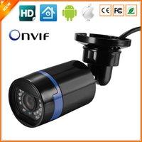 Wholesale New Arrival HD P IP Camera IR Night Vision Waterproof Bullet CCTV Camera ONVIF P2P HI3518E fps Security Camera IP