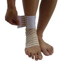 Wholesale Ankle Brace Support Elastic Ankle Bandage Wrap Straps Breathable Safety Gym Sports Protector Compression Foot Ankle Bands Guard