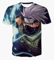 anime tshirts - 2016 Newest Anime Naruto D T shirt Women Men Cartoon Short Sleeve tshirts Fashion Streetwear Hipster Tee Tops Clothing