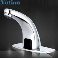 Wholesale New Style Single torneira Automatic Sensor Faucet Inductive Basin Sink Water Tap YT