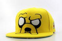 big concept - 2016 Cool quality Adventure Time Snapbacks caps Kickin It Snapback cartoon hats white orange Concept One Planes Big Face Cap
