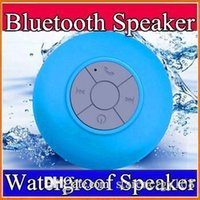 Wholesale Subwoofer Speaker Portable Mini - 2016 Portable Waterproof Wireless Bluetooth Speaker mini Suction IPX4 speakers Shower Car Handsfree Receive Call & Music Phone A-YX