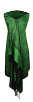 beautiful silk scarves - New Beautiful lady s Scarf women s Shawl wrap pashmina shawl nice paisley COLOR mixed colors order pass EU REACH STANDARD