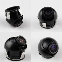 Wholesale Night Vision Car Rear View Camera Dgree Rotation Waterproof TV Lines Parking Sensor System LED Degree Angle