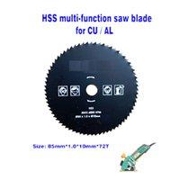 Wholesale 85mm T circular metal saw blades HSS steel multi function mini saw blades hole diameter mm Copper Aluminum round cutting discs