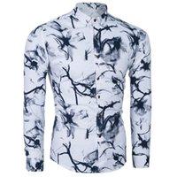 Wholesale 2016 Casual Shirt Hot Mens Dress Shirt Slim Fit Long Sleeve Men Shirts Single Breastd Shirts