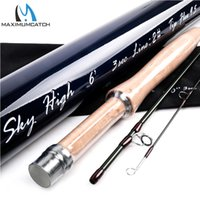 Wholesale IM12 T Carbon Skyhigh Fly Fishing Rod With Cordura Tube FT WT Carbon Fly Rod