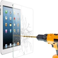 Wholesale For ipad air mini H Tempered Glass Screen Protector Film Anti Shatter Film Explosion Proof Screen Guard