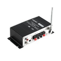 Wholesale 12V Hi Fi Stereo Audio Amplifier Channel Car MP3 CD Amplifier with USB SD Port DVD FM Remote Control hot new