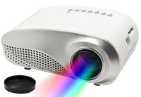 Wholesale RD Portable Mini Projector Home Theater LCD LED Projector P With HDMI USB SD VGA AV Audio Input Proyector