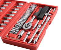 Wholesale Good price Piece Automotive Tool Kit Drive Socket Set Inch Ratchet Wrench