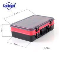 big red tool box - SeaKnight Multifunctional Big Box For Fishing Tackle Storage Plastic Red Color Fishing Tool Storage kg cm
