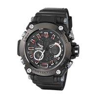 analog led display - LED Sports Military Watch Men Brand EXPONI Waterproof Fashion Watches Shock Men Analog Quartz Digital Watch relogio masculino