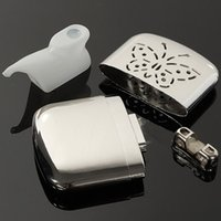 Wholesale New Arrival High Quality Mini Stainless Steel Handy Warmer Pocket Rechargeable Warmers Handwarmer Oil Cup and Bag