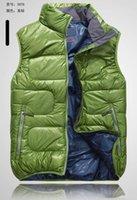 Wholesale 2016 new arrive fashion slim Men s down coat men s Outerwear down vest casual men s vest black women vest green