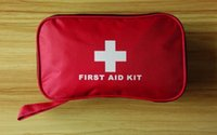 Wholesale 180pcs pack Safe Outdoor Wilderness Survival Travel First Aid Kit Camping Hiking Medical Emergency Treatment Pack Set