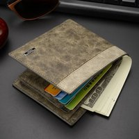 Wholesale 2016 Hot selling Crazy Mens Wallets Polo Wallet For Men Designer Brand Purse Small Man Wallet Mens Coin Purse
