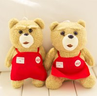 american educational - American movies ted teddy bear cheap plush toys dolls key chains aprons bear pendant birthday gifts Christmas gifts