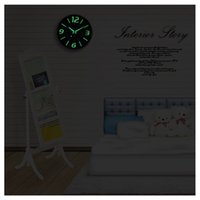 Wholesale Wall Clocks Glow In The Dark Home Decor Watch Silence quot
