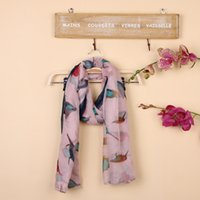 bali scarf - Scarves Wraps Autumn And Winter Bird Lady Bali Korean New Colorful Scarf Shawl Scarves Large Ctton