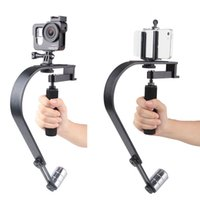 Wholesale Gopro Xiaomi Steadicam Steadycam Curve Handheld Camera Stabilizer for Iphone Mobile Gopro Hero DSLR Canon S60