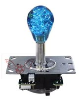 Wholesale top Arcade Game Joystick Colorful lights arcade joystick parts