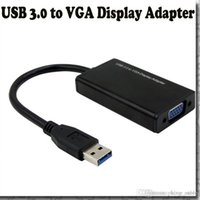 aluminum window box - Computer components Aluminum Alloy Shell USB to VGA Video Graphic Card Display External Cable Adapter for Windows WIN