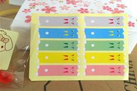 Wholesale handmade cake DIY seals sticker colors decoration gift sticker