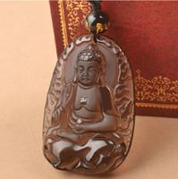 amitabha buddha - Opening The Light Ice Black Obsidian Amitabha Pendeloque Cut The Chinese Zodiac A Dog Pig Basis The Life Of Buddha Patron Saint Incidentally
