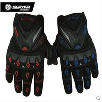Wholesale Motorcycle Gloves Scoyco feather Ministry to Protect Shell Gloves Motorcycle Cross Country Race Gloves MC10 Knights of Cycling Gloves