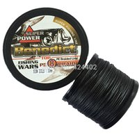 Wholesale Supper Meters Ocean Boat Fishing LB mm strands sea fishing braided line supper pe fiber wires