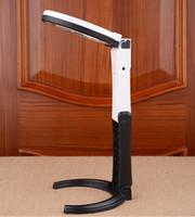 Wholesale LED light magnifier Metal Magnifying Glass magnifying lamp led table lamp magnifying glass Table Lamp Magnifying Glass with LED light