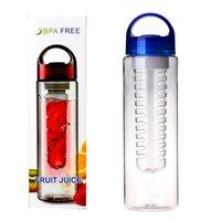 Super 700ml offre Aisément protéines de lactosérum shaker botella de agua bouteille sport d'eau potable de l'eau de citron jus bouteille tasse de HYM1706
