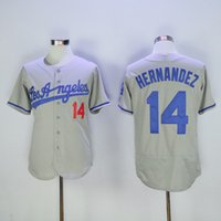 angeles soft - Grey Enrique Hernandez Men s Jersey Cheap Los Angeles Dodgers Baseball Jerseys Soft Athletic Outdoor Apparel Stitched Name and Number