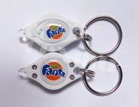 Wholesale Photon Freedom LED Keychain Micro Light White Beam Can Customizable logo