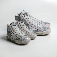 baby geese - GGDB Golden Goose Genuine LeatherSneaker Girl Shoes Kids Boy Baby Chaussure Children Shoes Light Up Flashing Sneakers children s shoes