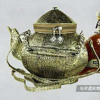 ancient chinese bronzes - Exclusive Chinese ancient exquisite carving teapot handbag novelty creative halloween christimas bag aladdin s lamp