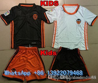 bamboo clothing kids - NEW valencia cf Home Kids kit Soccer Jerseys Valencia Child youth Kits football clothes SHIRTS Top Thai Quality