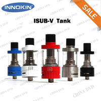 Electronic Cigarette Atomizer As pictures 100%Original Innokin iSub V TC Tank 3ml Airflow Control iSubV-Vortex Atomizer No Spill Coil Swap Vaporizer System Fit Cool Fire IV TC 100W