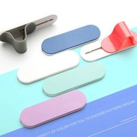Wholesale Mobile Phone Finger Handle Holder Flexible Universal Smart Cell Phone Stick Back Holder With Retail Package