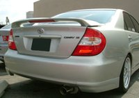 Wholesale rear spoiler for Camry Camry rear trunk spoiler Camry wing ABS grey primer ready for paint