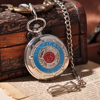 american pocket watch - American Emble Army Military Men Pocket Watch Fashion Cool Necklace Suits Mechanical Hand Wind Pocket Watch