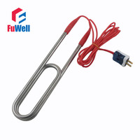 bathtub swimming - Stainless Steel or Red Copper Electric Heaing Component V or V Heating Tube Heater for Swimming Pool or Bathtub