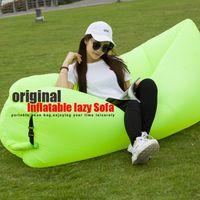 Wholesale Fast Inflatable Lamzac hangout Air Sleep Hiking Camping Bag Bags Bed KAISR Beach Sofa Lounge Nylon Fabric Sleeping Bag Lazy Chair