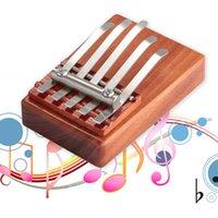 Wholesale Sales Promotion Keys Kalimba Mbira Likembe Sanza Finger Thumb Piano Rosewood Instrument