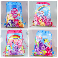 Wholesale 188 Design High quality Storage bag Drawstring bags Angry bird Non woven Minions shopping bag Cartoon Minions Gift bag Children storage bags