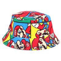 Unisex Summer Visor Unisex Caps & Hats Spring Summer Autumn Visor Cute Hats Baby Prop Clothing Mario Nepalese Color Cap Smiley Face Rabbit Kids Character Hats