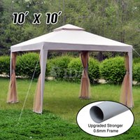 party tent - 10x10 Canopy Party Wedding Outdoor Tent Heavy duty Gazebo Pavilion Cater Events
