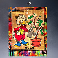 One Panel best selling posters - ALEC MONOPOLY HUGE COLOR BEST SELL print POP ART Giclee poster print on canvas for wall decoration painting large canvas wall art